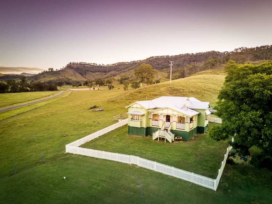 "Amazing fully renovated ""Queenslander"" sitting proud on our 2600 acre cattle farm"
