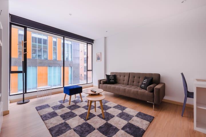 2 Bedroom Loft service apart. Best location *7