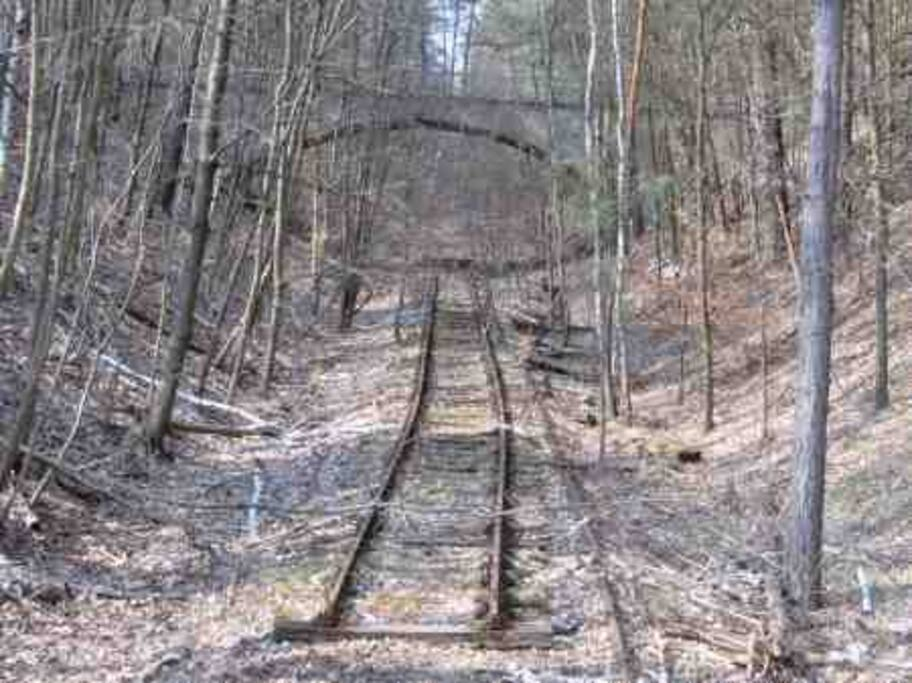 Oldest railway of prussia. Now ghosttrack.