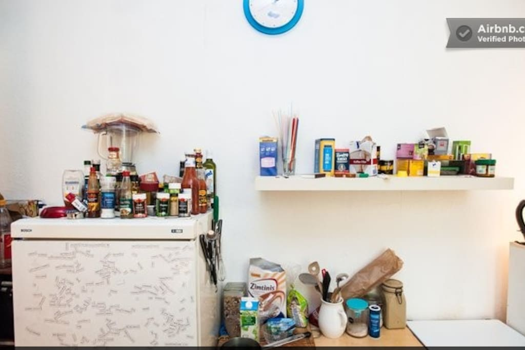 Küche hat alles was man braucht...