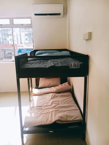 Uchi Hostel for 4 person @ town area(walking)