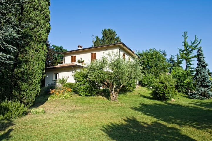 Beauty bright villa on Lake Garda