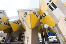 Cubehouse in central Rotterdam