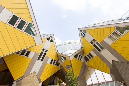 Cubehouse in central Rotterdam - 鹿特丹 - 獨棟
