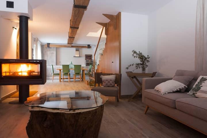 Casa Allá Al detalle en el Pirineo Aragonés