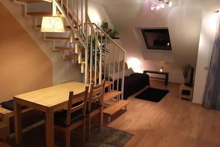 Gemütliche vollausgestattete Maisonettewohnung - 埃森 - 公寓