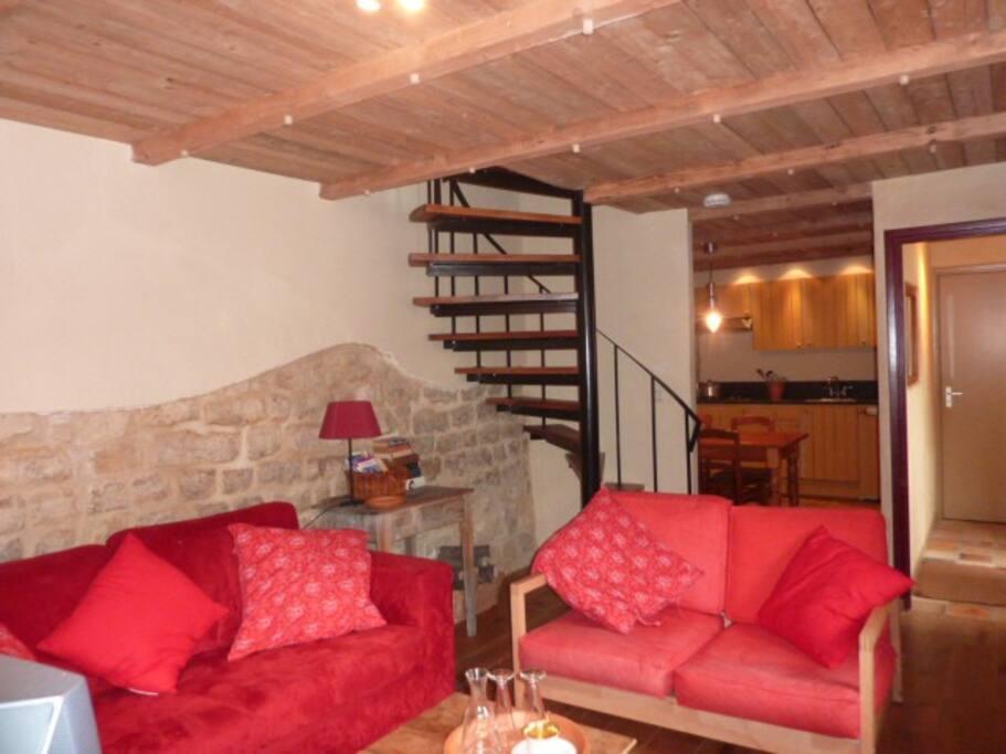 livingroom Napoleonsuite