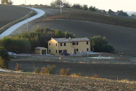Cascina Balti:paradiso in campagna - Corinaldo - Huvila