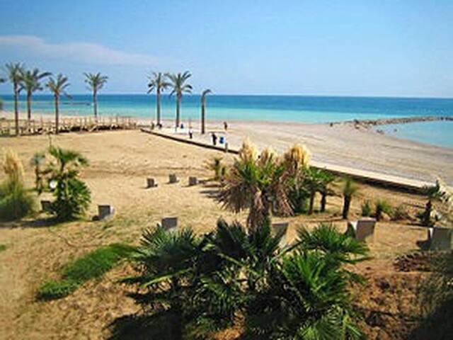 apartment in mediterranean beach. costa de azahar