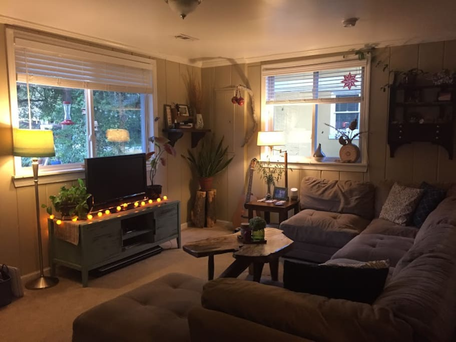 Cute and comfy living space