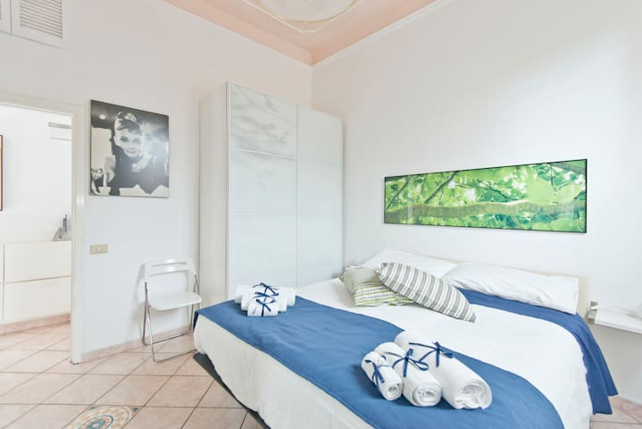 Apartment with garden in Pigneto