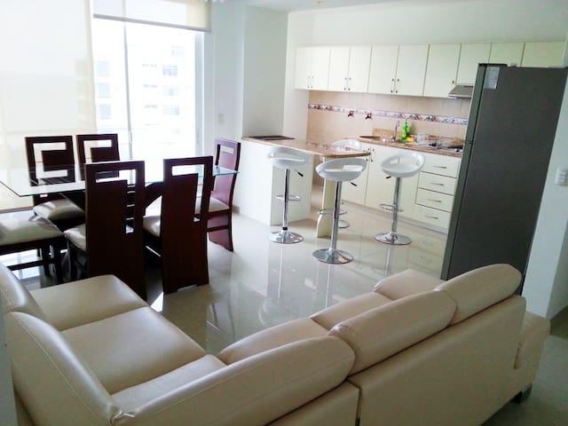 ★★★★★ Apartamento moderno, confortable y tranquilo - Manta - Apartment