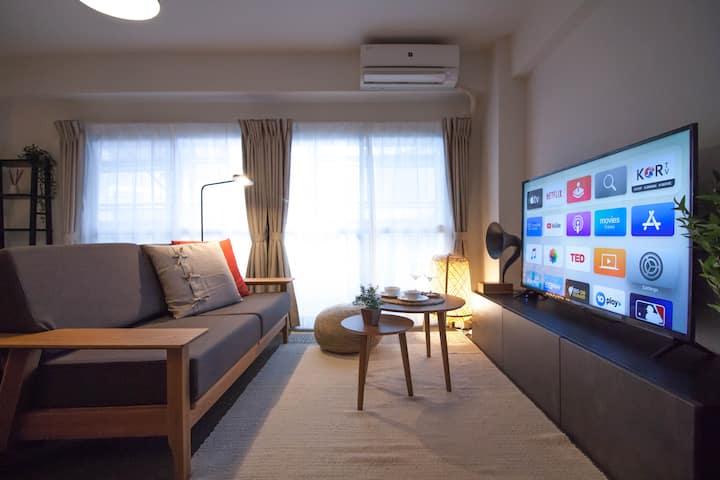 【NEW OPEN】Harajuku Cozy Suite — Shibuya 2 Minutes