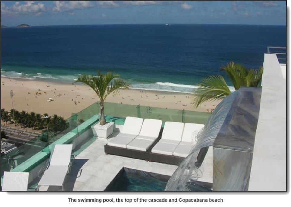 Copacabana Terrace : panoramic view on Copacabana beach www . copacabanaterrace . com