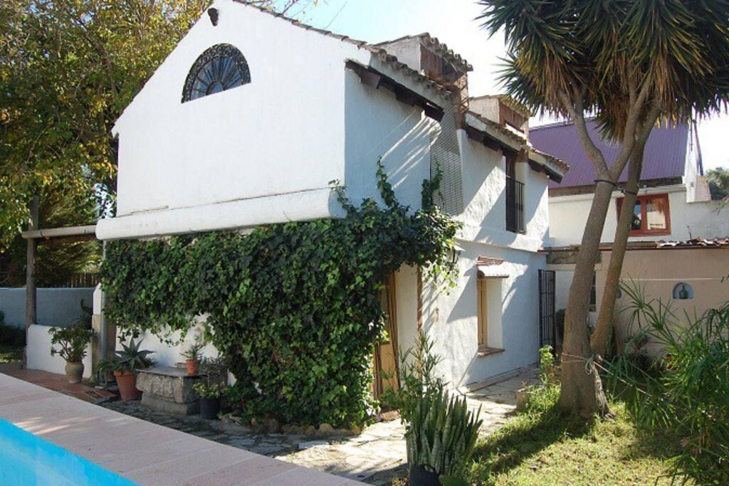 La Violeta - the house next to the pool