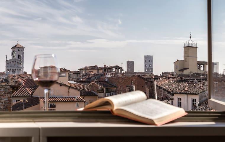 Loft in centro storico con panorama meraviglioso