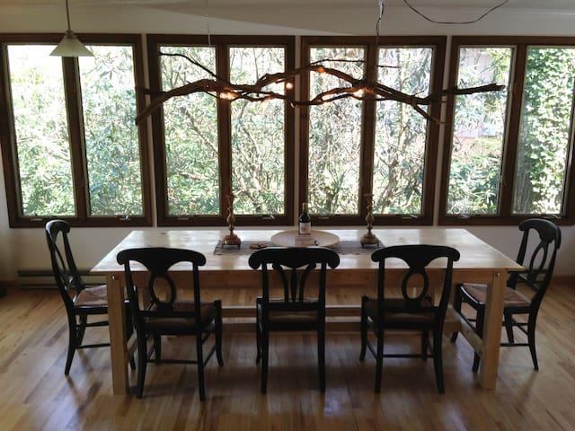 Bear House Cottage, Highlands NC - Highlands - Casa