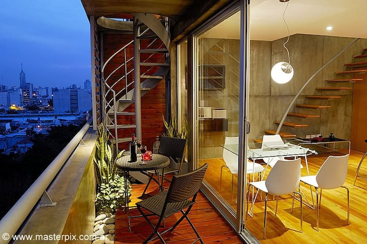 PENTHOUSE /Terrace & pool /City views /2bedrooms - Buenos Aires