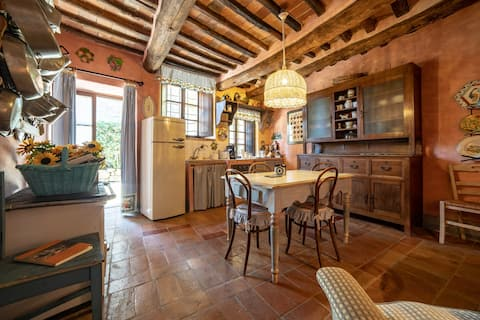 Exclusive and reserved in Chianti