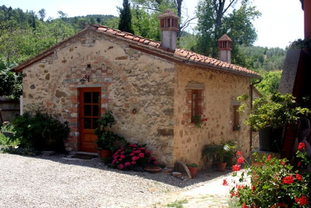 Chianti independent farm farm stays for rent in san for Rent a house in tuscany