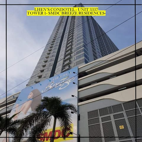 Breeze Residence- Pasay w/ Manila Bay Sunset View