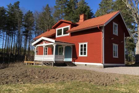 Sjöstugan - med egen bastu och brygga - Nyköping NO - Ξυλόσπιτο