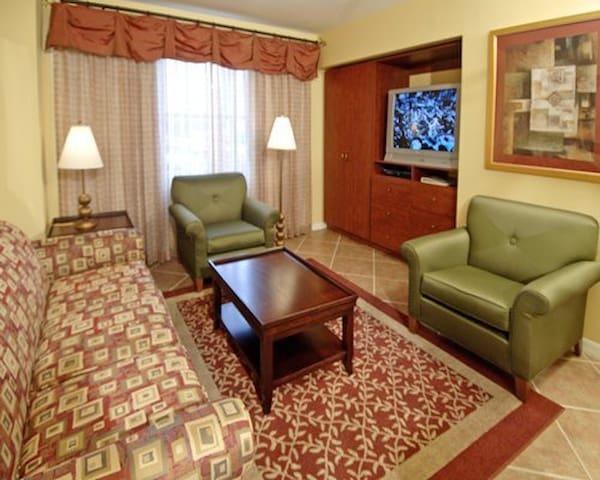 Living area/sleeper sofa