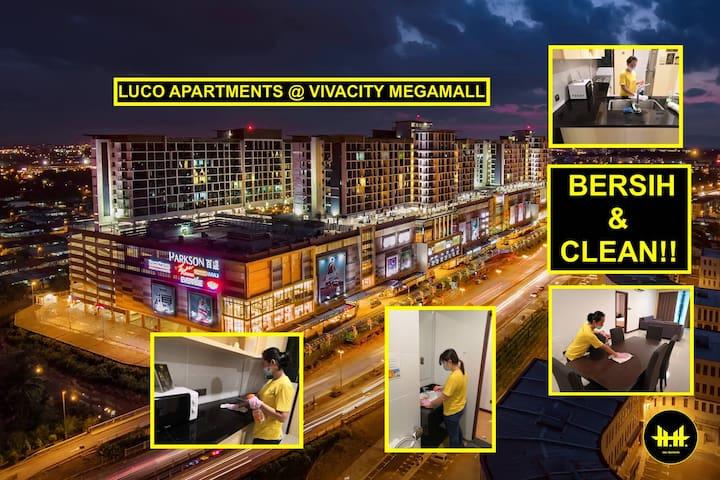 Luco Apartments @ Viva City Megamall (Studio)