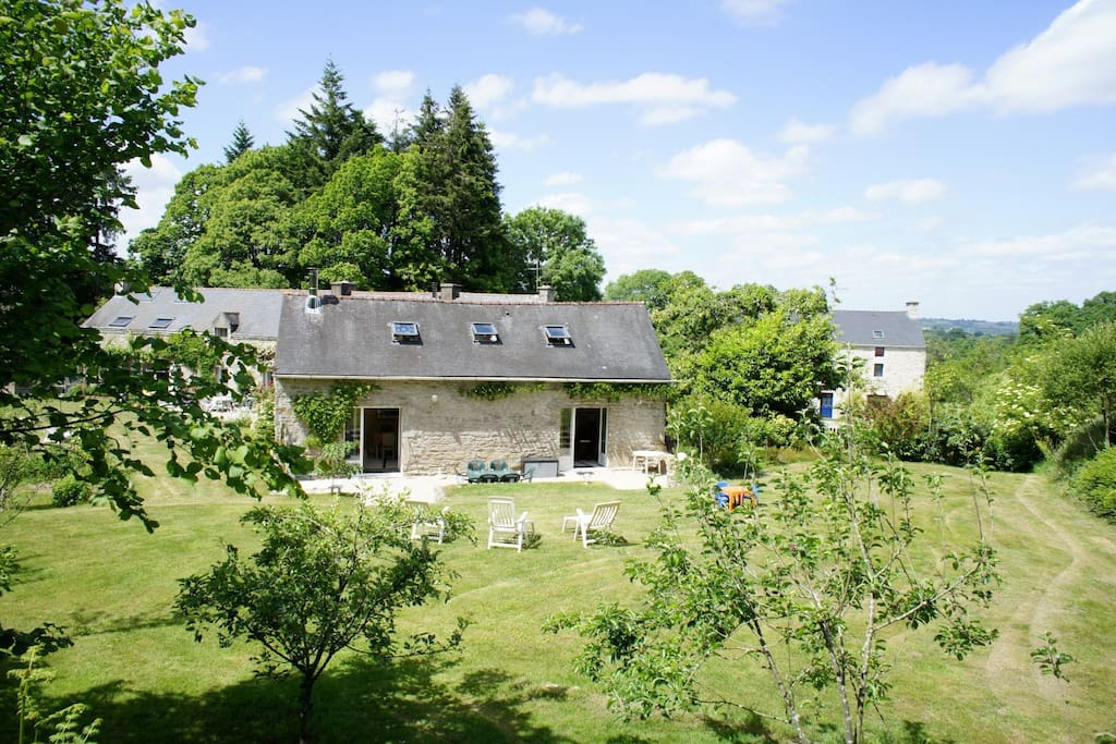 Charming Country House Near Vannes Houses For Rent In