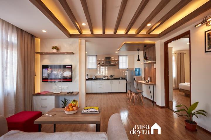 Golden Hour Breezy 1BR Apartment by Casa Deyra