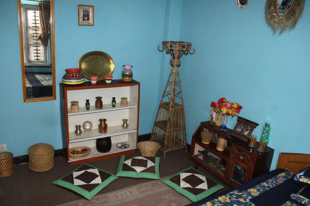 Traditionally Decorated Room