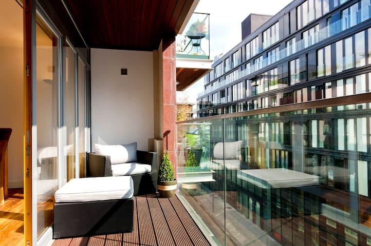 Designer Apt,GrandCanal,City Center - Dublin - Apartament