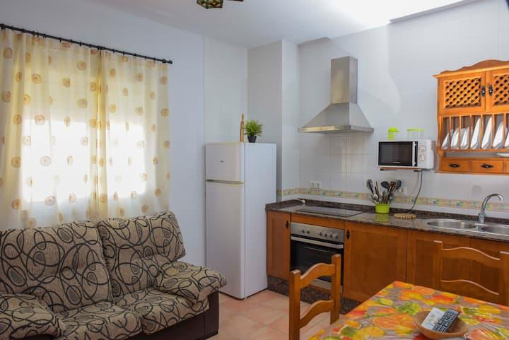 Apartamento independiente con terraza privada
