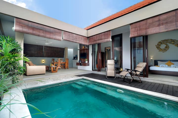 Sale in Seminyak|2Bdr Pool Villa-HEART OF SEMINYAK