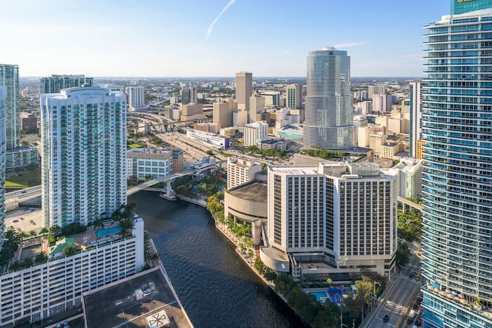 W Hotel PH floor free spa - Miami - Byt
