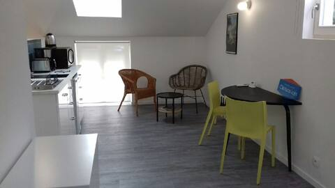 """Studio renovated and equipped 2 people """"Le canardeau"""""""