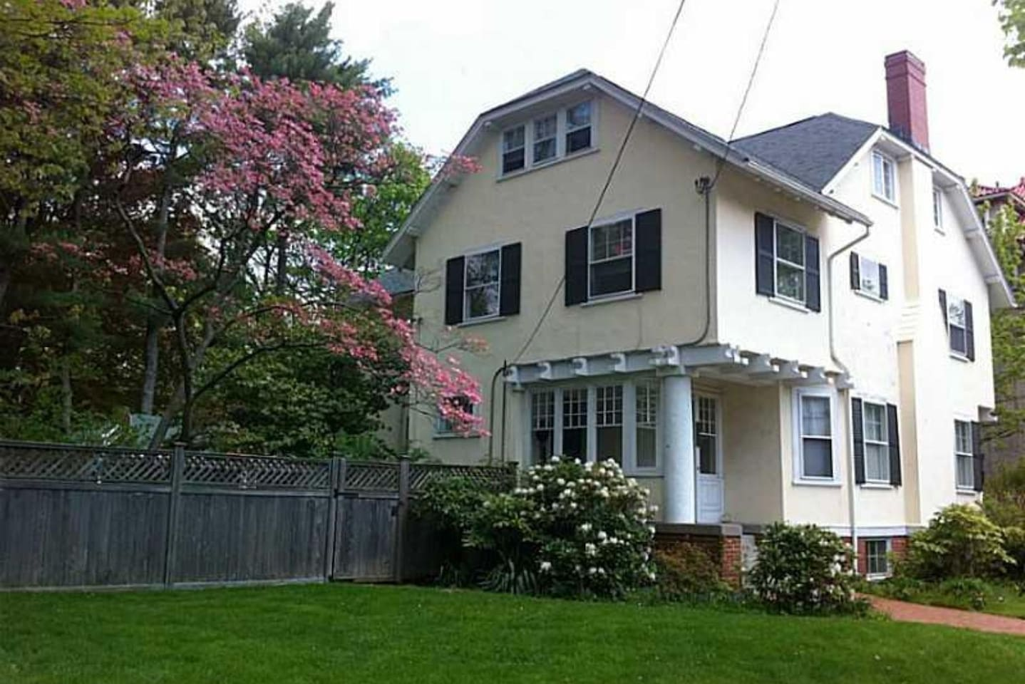 Well maintained historic home on quiet street.