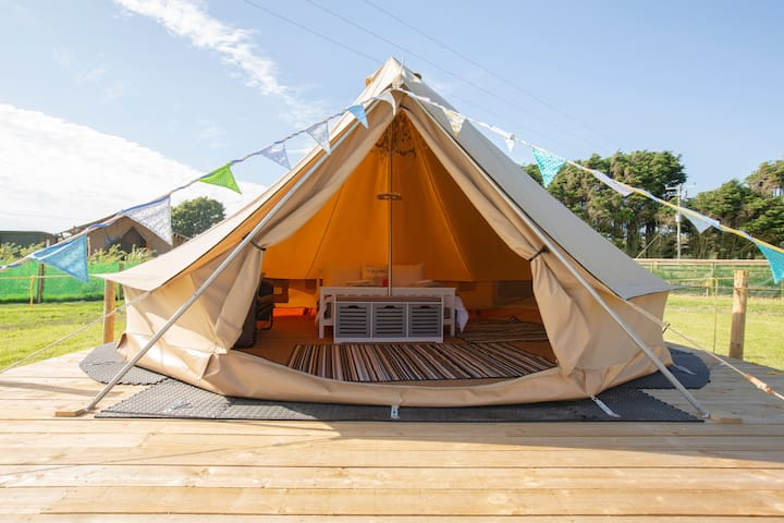 Nightsky Glamping luxury bell tents