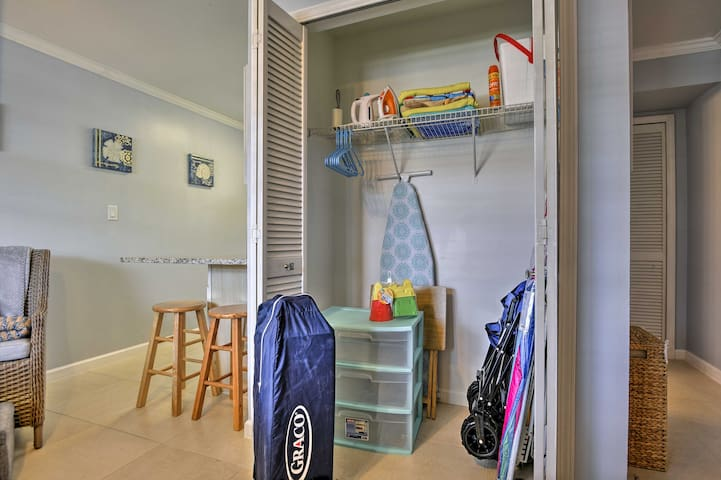 Plenty of beach gear is available during your stay!