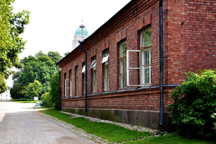 Triple Room with Shared Bathroom in Suomenlinna