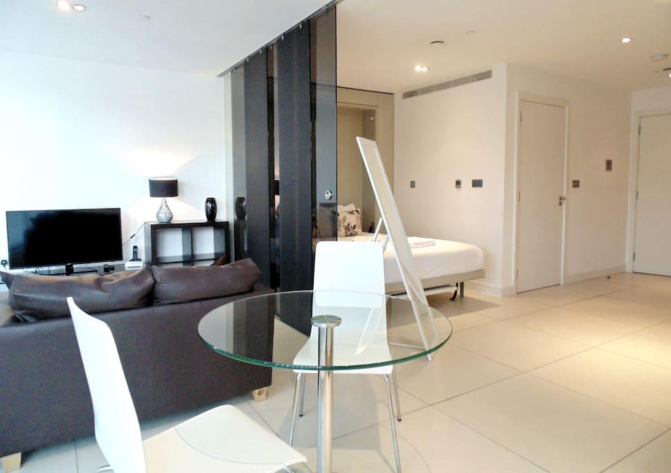 Lounge Area & Bedroom