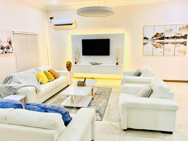 3 Bedroom Luxury Grill Apartment Life Camp Abuja.