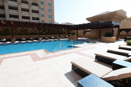 Beautiful 1BD Apartment in The Pearl - Doha - Lejlighed