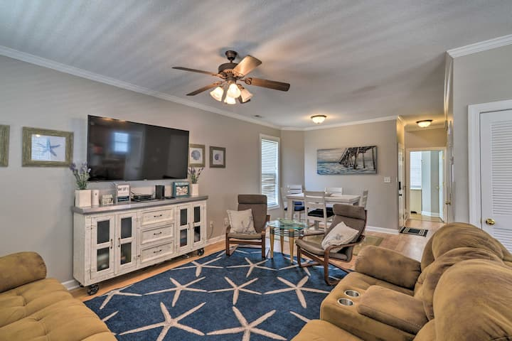 Large Home w/ Hot tub & Pool - 500 Ft to the Beach