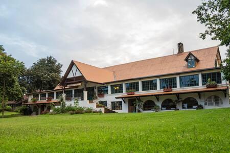 Breathe at Brackenhurst, the hotel in the forest.
