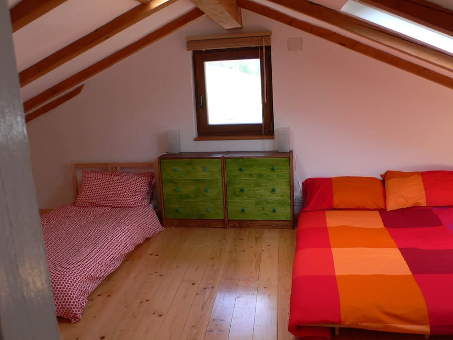 Top flood attic room