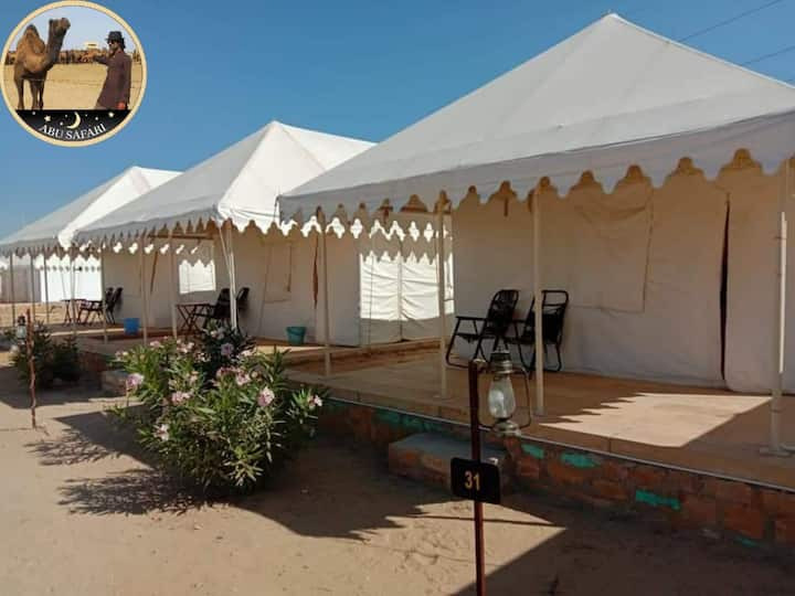 Abu Safari Desert Camp sweet tent