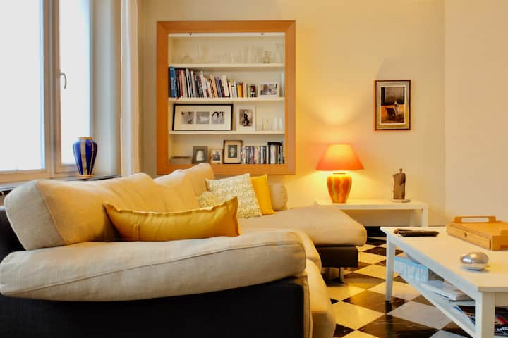 Appartement confortable et spacieux. Centre / Gare