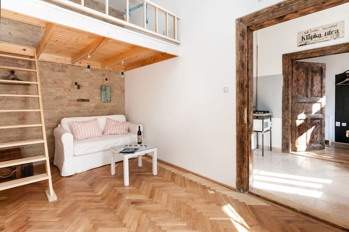Little Whistle Apartment downtownBP - Budapest - Wohnung