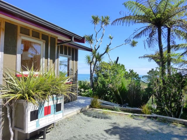 Miro cottage with stunning sea view - Punakaiki - Appartement